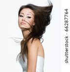 sensual young woman with...   Shutterstock . vector #66287764