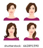 vector illustration of young... | Shutterstock .eps vector #662891590