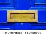 Old Letterbox In The Door ...