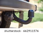 Towbar On A Car  Black Steel...