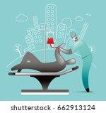 blood transfusion   Shutterstock .eps vector #662913124