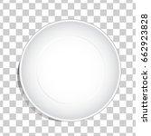 empty white dish plate... | Shutterstock .eps vector #662923828