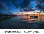 Sunrise Over The Caribbean Sea...