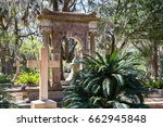 historic bonaventure cemetery... | Shutterstock . vector #662945848