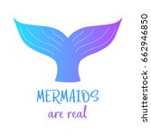 mermaids are real. colorful...