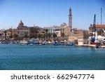 bari skyline   old town view in ... | Shutterstock . vector #662947774