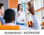 african american business... | Shutterstock . vector #662964268