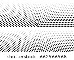 abstract halftone dotted... | Shutterstock .eps vector #662966968