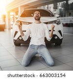yes  that's my new car ... | Shutterstock . vector #663003154