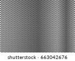 abstract metal circle mesh... | Shutterstock .eps vector #663042676