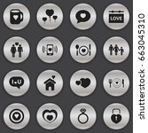 set of 16 editable amour icons. ...