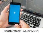 chiang mai  thailand   apr 15... | Shutterstock . vector #663047014