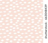 pastel seamless vector... | Shutterstock .eps vector #663048439