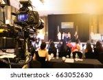 video dslr camera social... | Shutterstock . vector #663052630