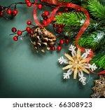 Christmas Decorations Border...