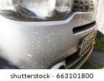 dirty bumper cars | Shutterstock . vector #663101800