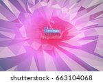 polygonal background abstract... | Shutterstock .eps vector #663104068