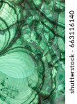 Green Malachite Stone Texture...