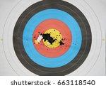 Small photo of broken aim arrow