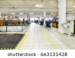 bright  clean production hall.... | Shutterstock . vector #663131428