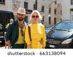 milan  italy   june 18 ... | Shutterstock . vector #663138094