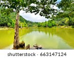 view of the beautiful clear... | Shutterstock . vector #663147124