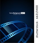 film strip vector background | Shutterstock .eps vector #66315400