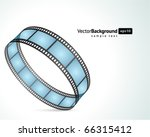 film strip vector background | Shutterstock .eps vector #66315412