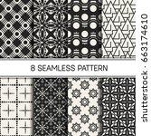abstract concept vector... | Shutterstock .eps vector #663174610