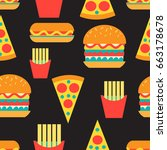 Seamless Bright Pattern Of...