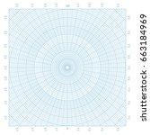 square sheet of blue polar... | Shutterstock .eps vector #663184969