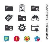 accounting binders icons. add...