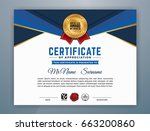 multipurpose modern... | Shutterstock .eps vector #663200860