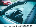 a criminal incident. hacking... | Shutterstock . vector #663207250