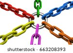teamwork cooperation and...   Shutterstock . vector #663208393