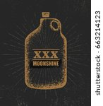 Moonshine Jug Pure Original...