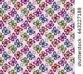 seamless background  tile... | Shutterstock .eps vector #663227188