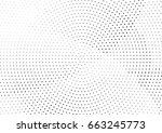 abstract halftone dotted... | Shutterstock .eps vector #663245773