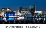 baltimore maryland cityscape at ... | Shutterstock . vector #66325243