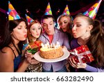 Group Of Youths Blows Out The...