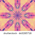 Digital Abstract Multicolored...