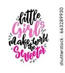 Little Girl Make World Sweeter...