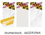 design of banners  flyers ... | Shutterstock .eps vector #663291964