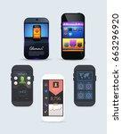 different smart phone theme ...