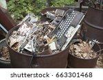 automotive electronic...   Shutterstock . vector #663301468