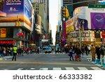 new york   nov 27  time square...   Shutterstock . vector #66333382