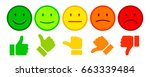 valuation by emoticons   stock...   Shutterstock .eps vector #663339484