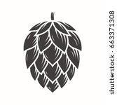 Hop Emblem Icon Label Logo....