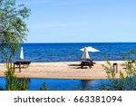 Summer Lake Sand Beach For...