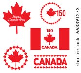 canada day graphics   Shutterstock .eps vector #663391273